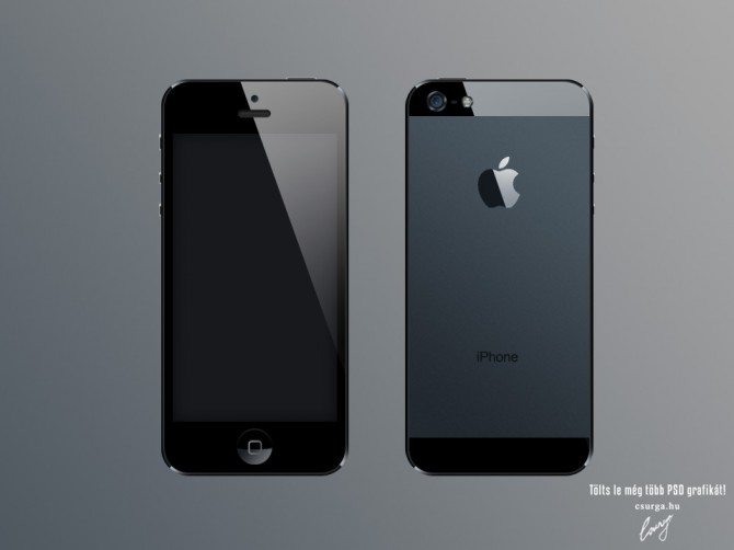 iPhone5 PSD - Csurga